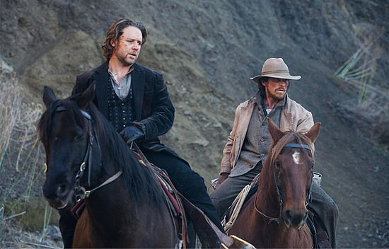 Russell Crowe and Christian Bale in 3:10 to Yuma
