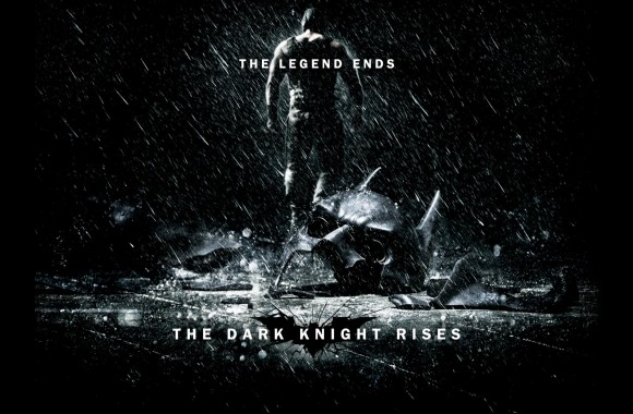 The Dark Knight Rises_The Legend Ends poster