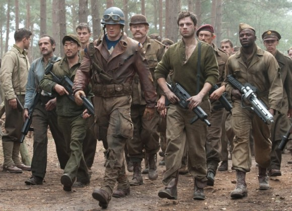 Captain America The First Avenger_Cap and his team