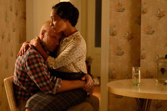 Joel Edgerton as Richard and Ruth Negga as Mildred in Loving