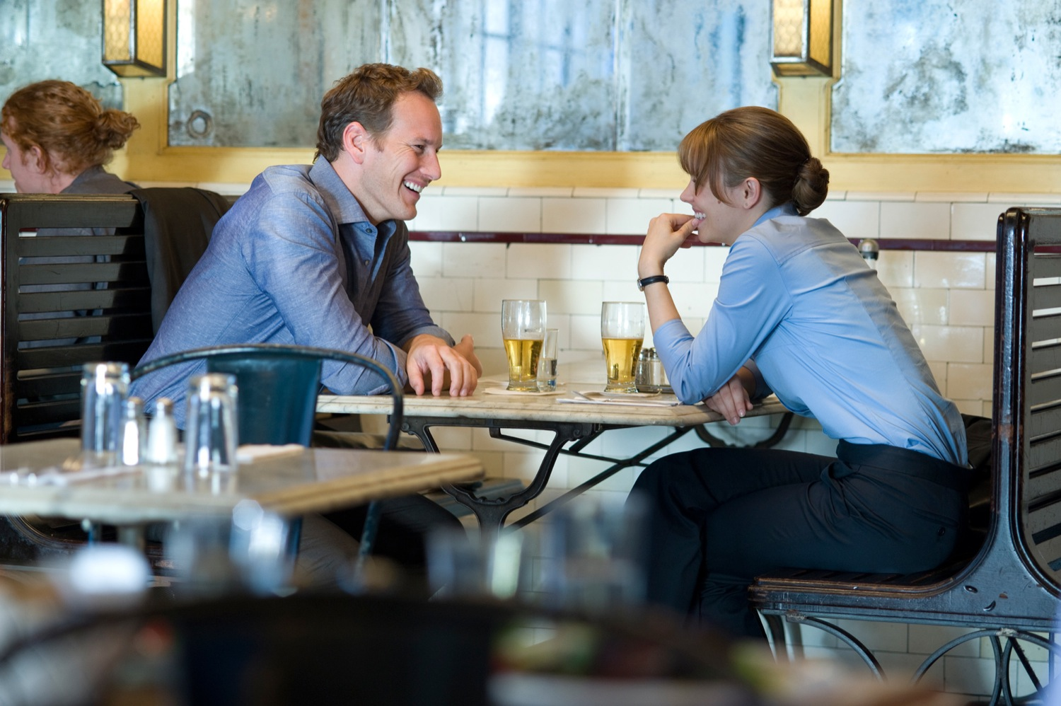 Patrick Wilson and Rachel McAdams in Morning Glory