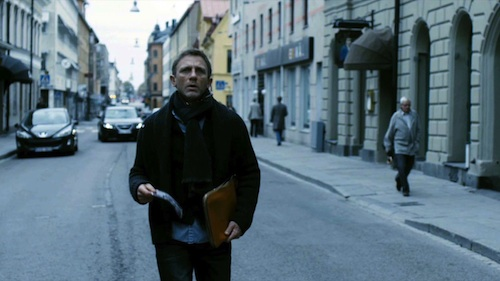 Daniel Craig is Mikael Blomkvist in The Girl with the Dragon Tattoo