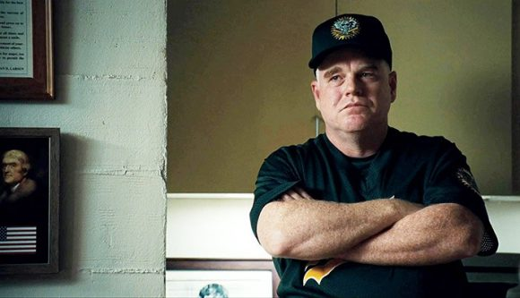 Philip Seymour Hoffman as Art Howe in Moneyball