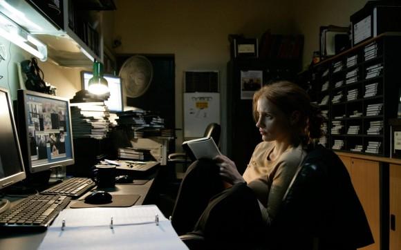 Jessica Chastain as Maya in Zero Dark Thirty