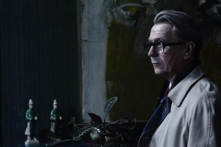 Gary Oldman is George Smiley in Tinker Tailor Soldier Spy