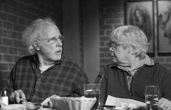 Bruce Dern as Woody with June Squibb as Kate in Nebraska