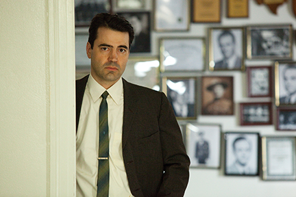 Ron Livingston is James Hosty in Parkland
