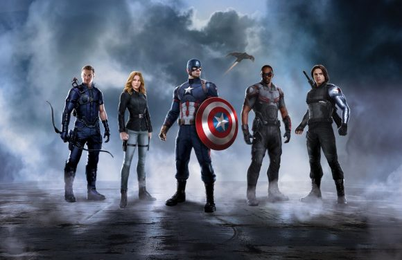 The team of Captain America: Civil War