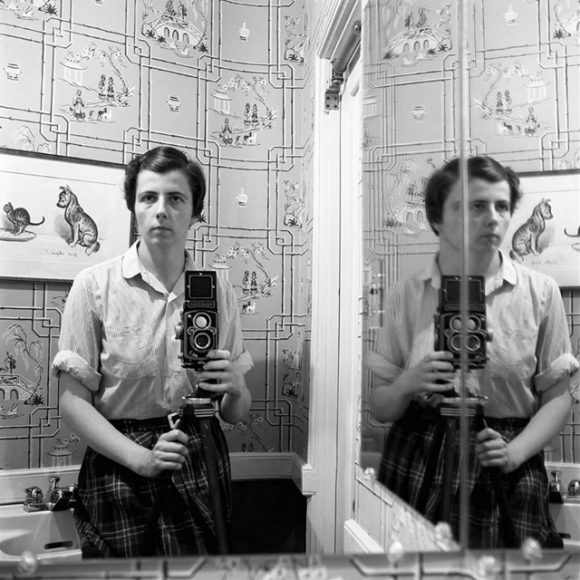 Vivian Maier self portrait - Photograph c/o Colossal
