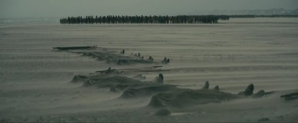 The soldiers on the Mole in Dunkirk