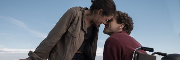 Tatiana Maslany and Jake Gyllenhaal in Stronger