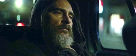 Phoenix as Joe in You Were Never Really Here